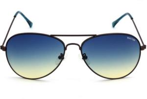 Kenneth Cole Aviator Sunglasses Blue