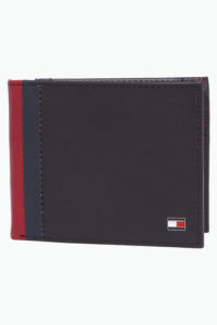 TOMMY HILFIGER Mens Leather Single Fold Wallet