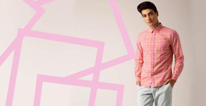 pink for men