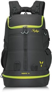 Skybags Tropic 45 Black 45 L Laptop Backpack