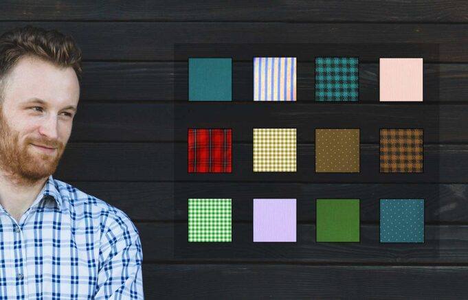 mens shirt patterns banner