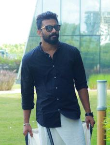 Varun in Premam style - Onam dress ideas