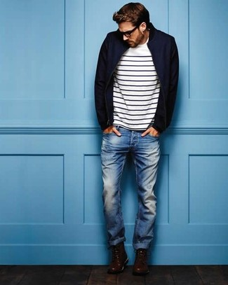 b4407e018b How to wear stripes for men? See Stripes in Style - Fashion Suggest