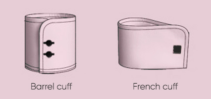 barrel and french cuff