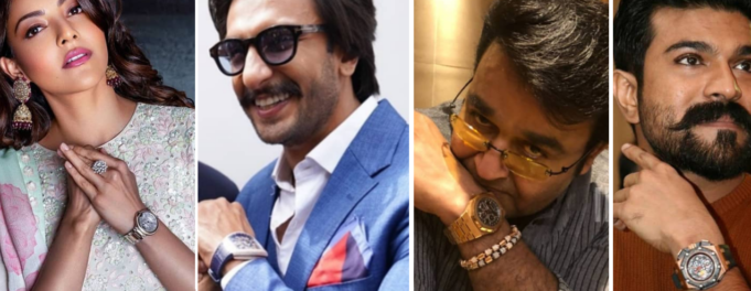 Indian Celebrity Watches Banner