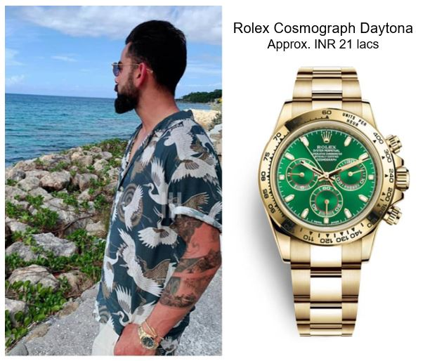 Virat Kohli Rolex Cosmograph Daytona Watch