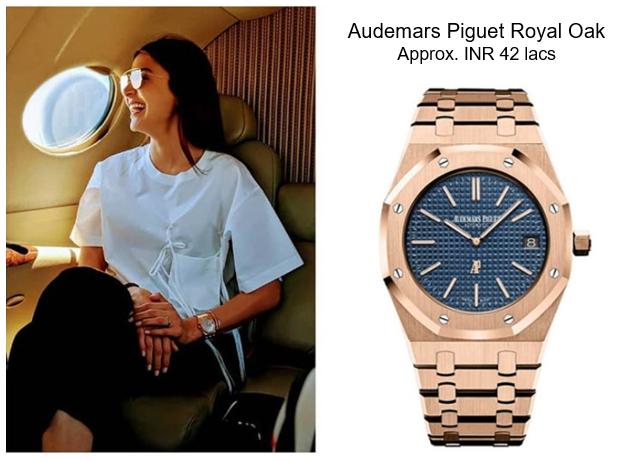 Anushka Sharma's Audemars Piguet Royal Oak Jumbo watch