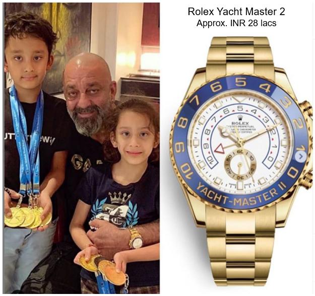 Sanjay Dutt's Rolex Yatch Master 2 Watch