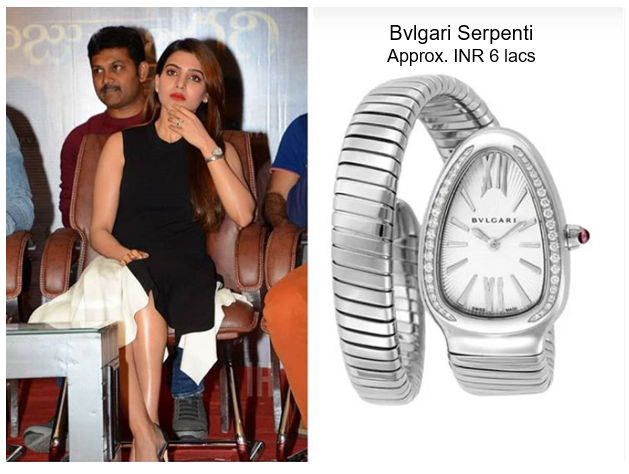 Samantha's Bvlgari Serpenti Watch